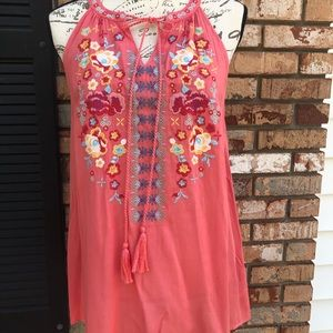 Andre by unit boho top NWT